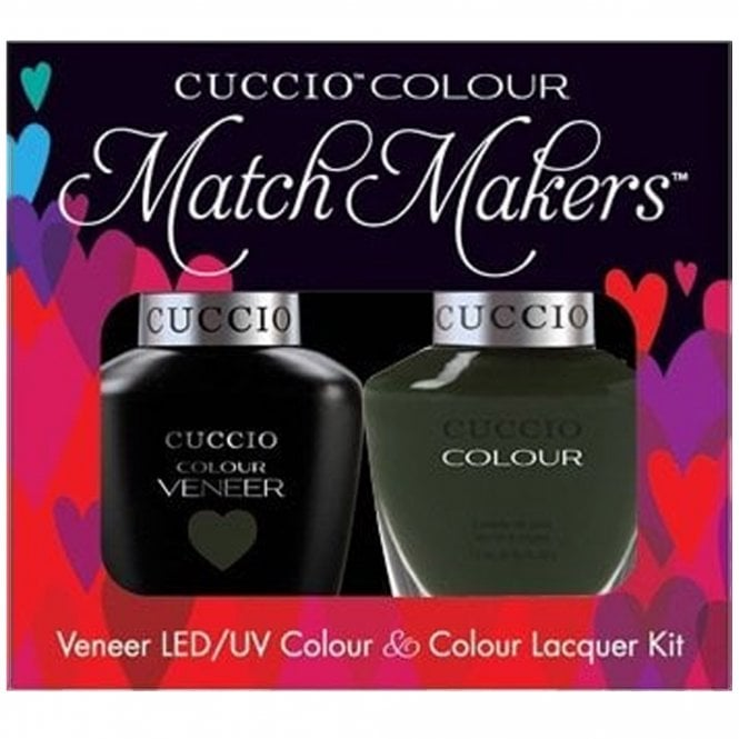 Cuccio Veneer UV/LED Polish Match Maker Sets - Glasgow Nights x2 13ml (6045LEDMATCHMAKER)