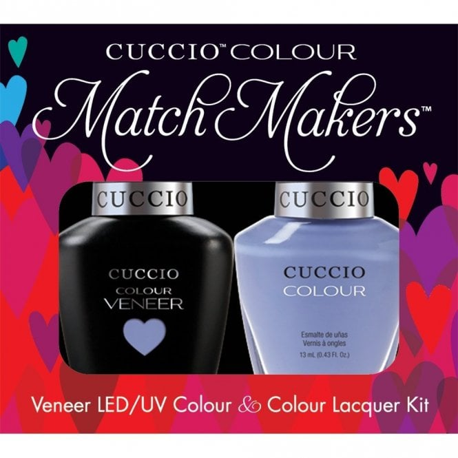 Cuccio Veneer UV/LED Polish Match Maker Sets - Jamica Me Crazy x2 13ml (6038LEDMATCHMAKER)