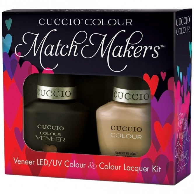 Cuccio Veneer UV/LED Polish Match Maker Sets - JAVA VA VOOM x2 13ml (6117LEDMATCHMAKER)