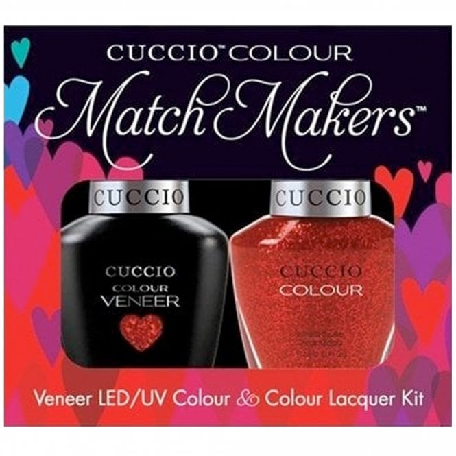 Cuccio Veneer UV/LED Polish Match Maker Sets - Manhattan Mayhem x2 13ml