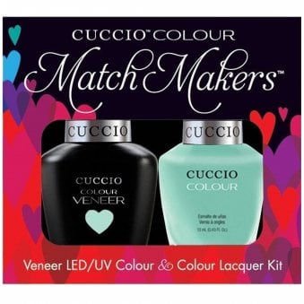Veneer UV/LED Polish Match Maker Sets - Mint Condition x2 13ml