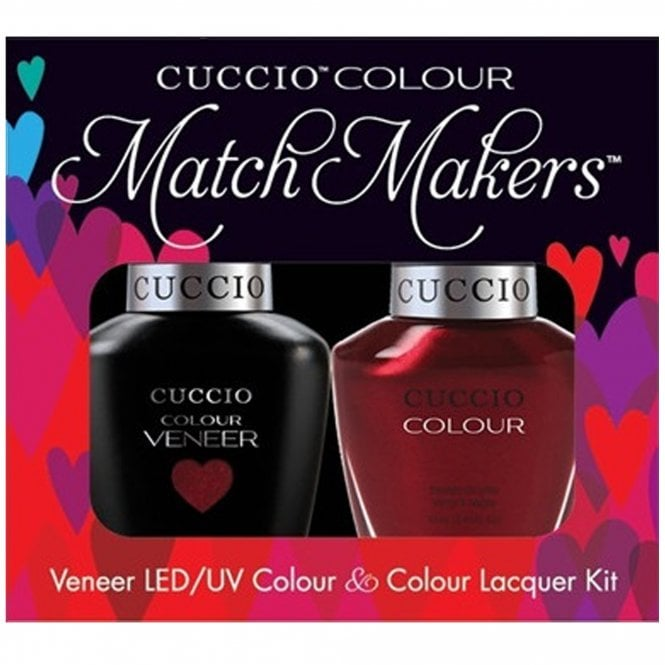 Cuccio Veneer UV/LED Polish Match Maker Sets - Moscow Red Square x2 13ml (6029LED)