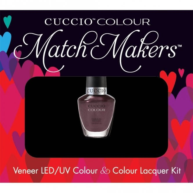 Cuccio Veneer UV/LED Polish Match Maker Sets - One Night In Bangkok x2 13ml