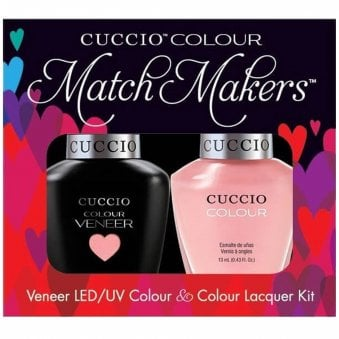 Veneer UV/LED Polish Match Maker Sets - Parisian Pastille x2 13ml