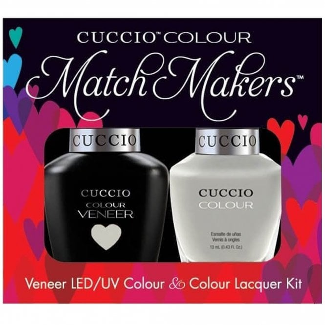 Cuccio Veneer UV/LED Polish Match Maker Sets - Quick As A Bunny x2 13ml (6099LEDMATCHMAKER)