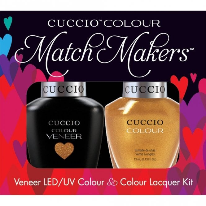 Cuccio Veneer UV/LED Polish Match Maker Sets - Russian Opulence x2 13ml (6031LEDMATCHMAKER)