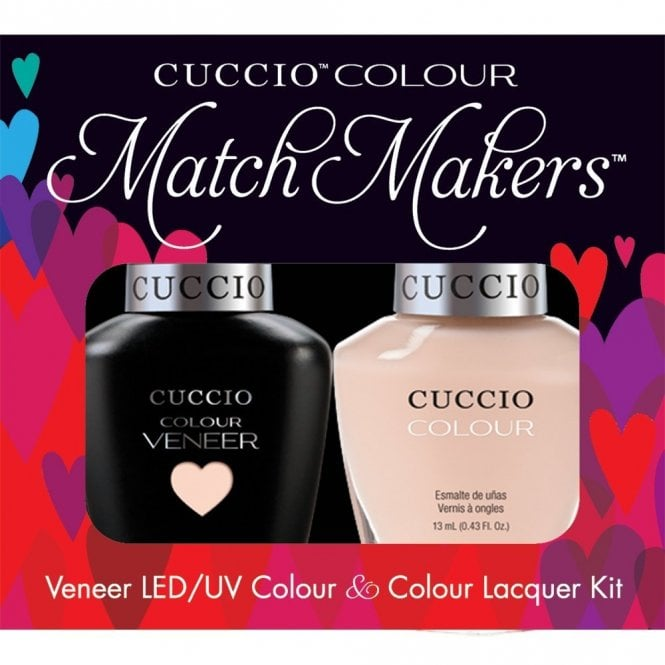 Cuccio Veneer UV/LED Polish Match Maker Sets - See It All In Montreal x2 13ml (6005LEDMATCHMAKER)