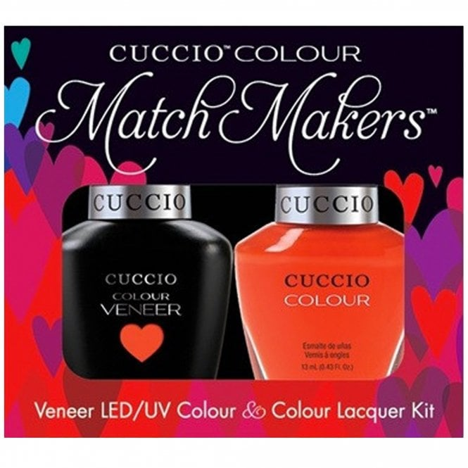 Cuccio Veneer UV/LED Polish Match Maker Sets - Shaking My Morocco x2 13ml (6019LEDMATCHMAKER)