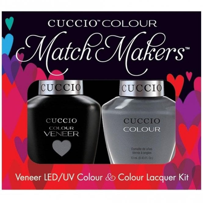 Cuccio Veneer UV/LED Polish Match Maker Sets - Soaked In Seattle x2 13ml