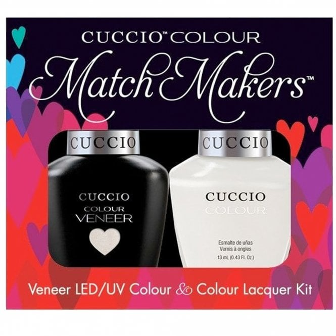 Cuccio Veneer UV/LED Polish Match Maker Sets - Tahitian Villa x2 13ml (6004LEDMATCHMAKER)