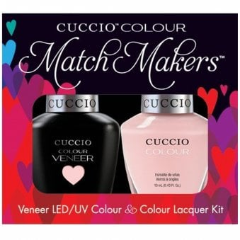 Veneer UV/LED Polish Match Maker Sets - Texas Rose x2 13ml
