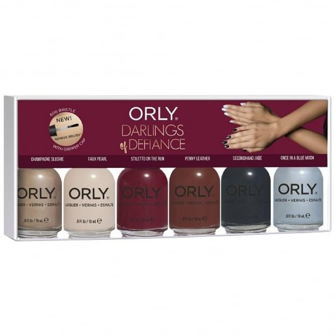 Orly Darlings Of Defiance 2017 Nail Polish Collection - 6 Piece Set