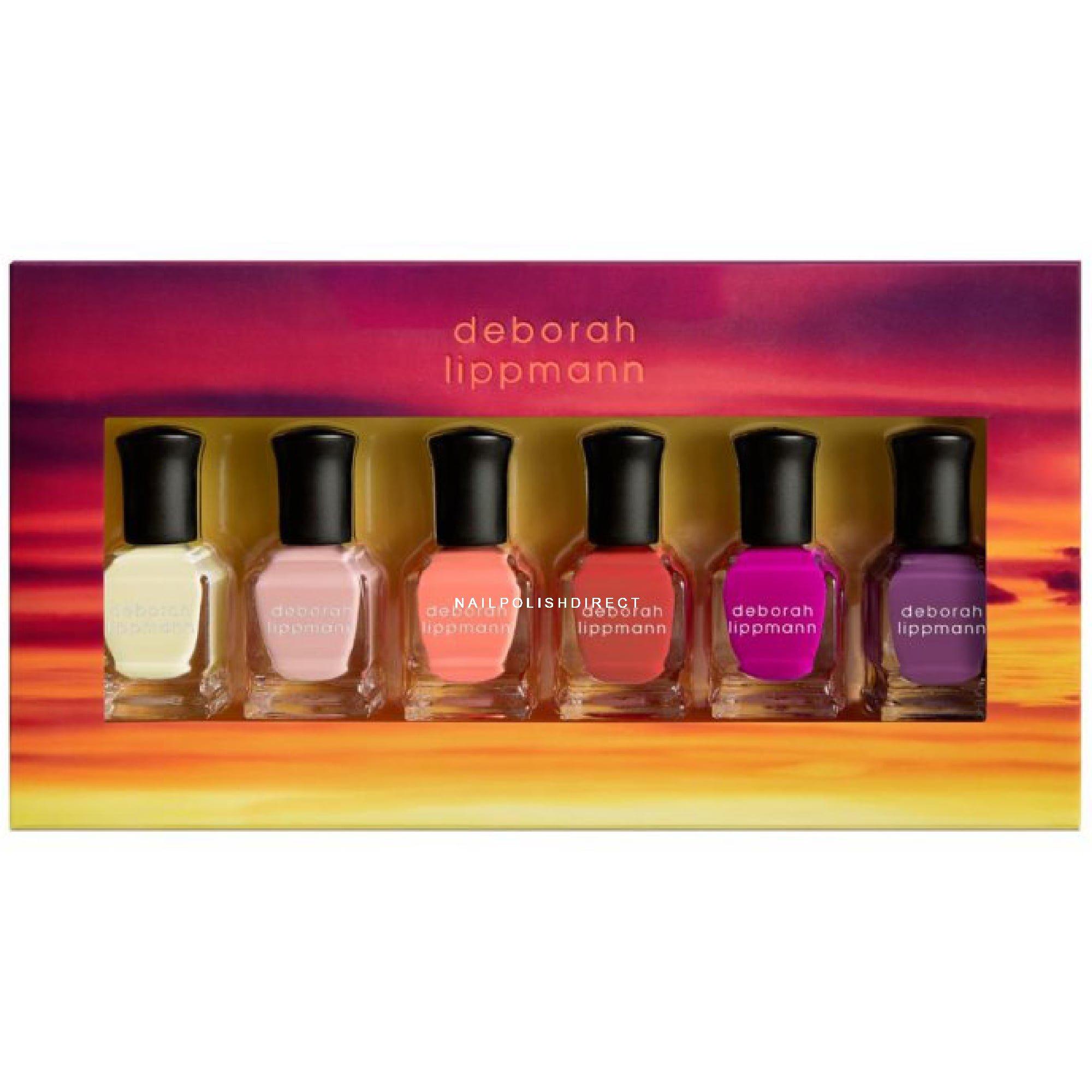 Deborah Lippmann Gel Lab Pro Set - Sunrise, Sunset (11401) 6 x 8ml