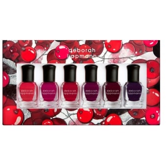 Professional Mini Nail Lacquer Set - Very Berry 6 Piece Set (6 x 8ml)