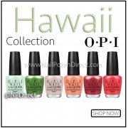 OPI Hawaii 2015 Nail Polish Collection