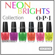 OPI Neon Brights Collection