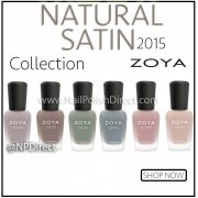 Zoya Naturel Satins 2015 Nail Polish Collection