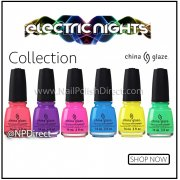 China Glaze Electric Nights Nail Polish Collection
