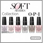 OPI Soft Shades 2015 Nail Polish Collection