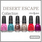 China Glaze Desert Escape 2015 Nail Polish Collection