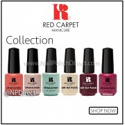 Red Carpet Manicure Gel Polish Range