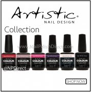 Artistic Colour Gloss Gel Polish Range