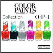 OPI Colour Paints Nail Polish Collection