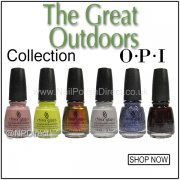 China Glaze 2015 The Great Outdoors Nail Polish Collection