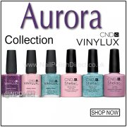CND Vinylux & Shellac Nail Polish Collection Aurora