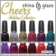 China Glaze Cheers 2015 Holiday Nail Polish Collection