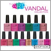 CND Vinylux & Shellac Art Vandal 2016 Nail Polish Collection