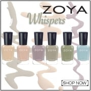 Zoya Whispers Transitional 2016 Nail Polish Collection