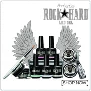 Artistic Nails Rock Hard LED Gel Professional Nail Range
