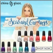 China Glaze 2016 Nail Polish Collection - Seas And Greetings