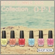 OPI Retro 2016 Nail Polish Collection
