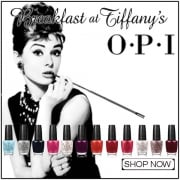 OPI Breakfast At Tiffany's Nail Polish Collection 2016