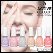 China Glaze Active Colour Polish & Treatment Collection