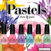 China Glaze Pastels Nail Polish Collection 2017