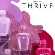 Zoya Thrive 2018 Nail Polish Collection
