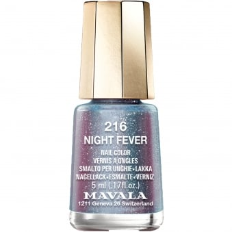 Disco Christmas Colours Nail Polish Collection 2016 - Night Fever 5ml (216)