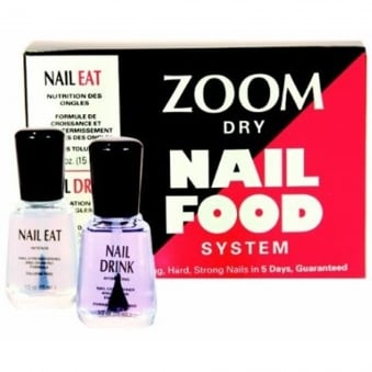 Dry Nail Food System - Nail Eat & Nail Drink (x2 15ml)