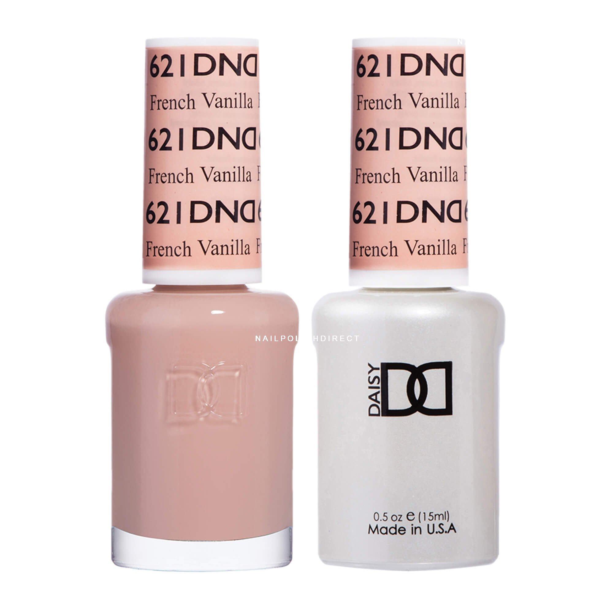 Dnd Duo Gel Nail Polish Set French Vanilla 621 2x15ml
