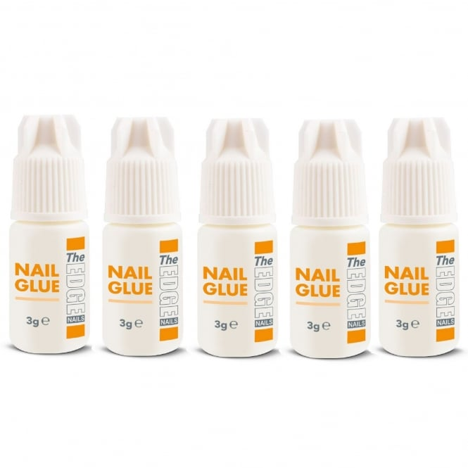 Edge Nails Adhesive Nail Glue 5 Pack (5 x 3g)
