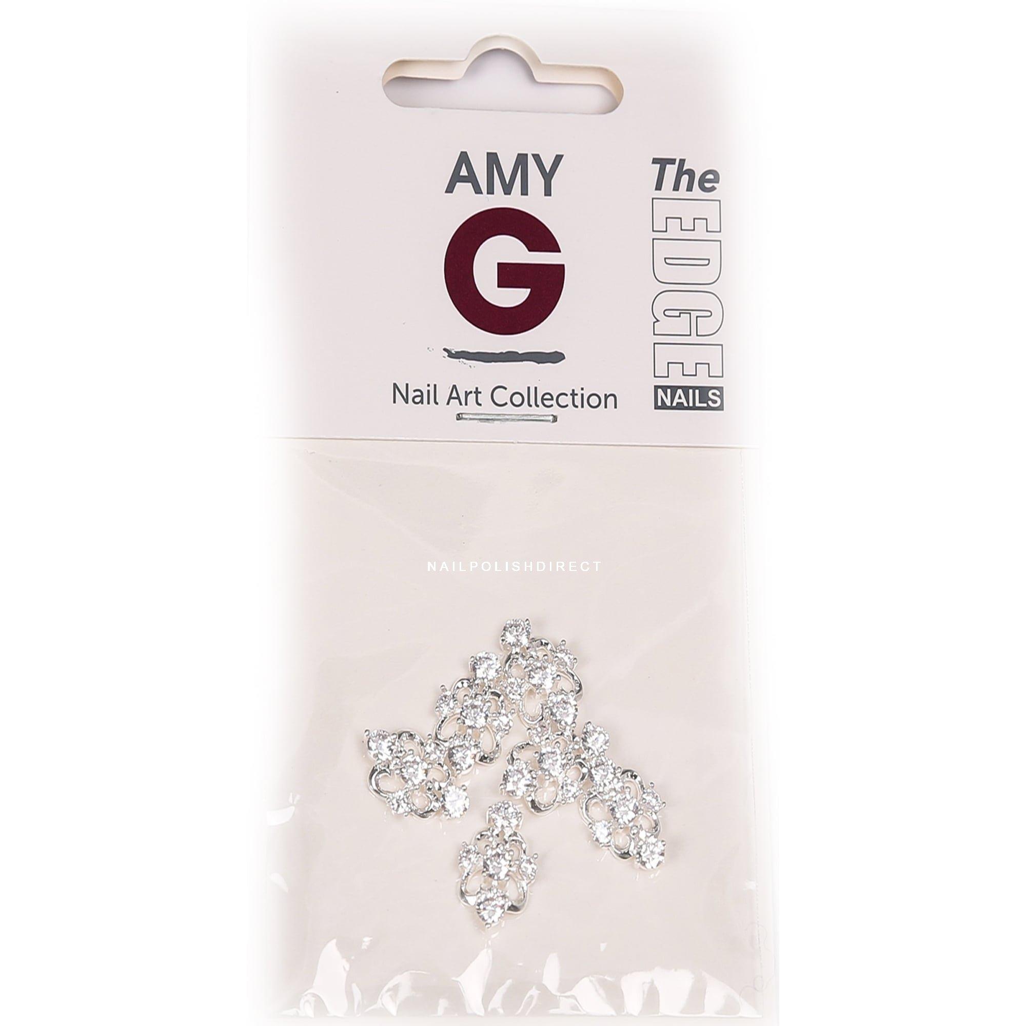 Amy G - 3D Nail Art Nail Jewels - Wedding Crystal (6 PCS) (3003047)