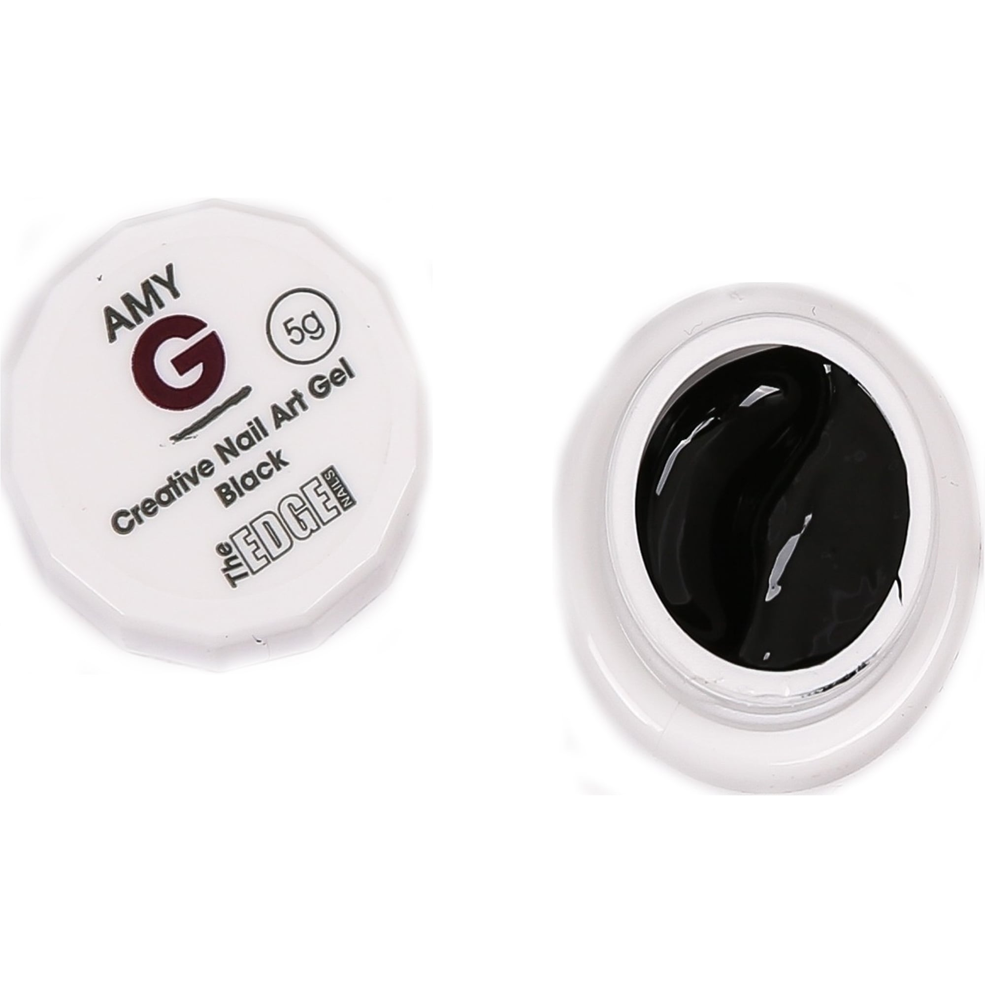 Amy G - Creative Nail Art Gel - Black 5g (3003039)