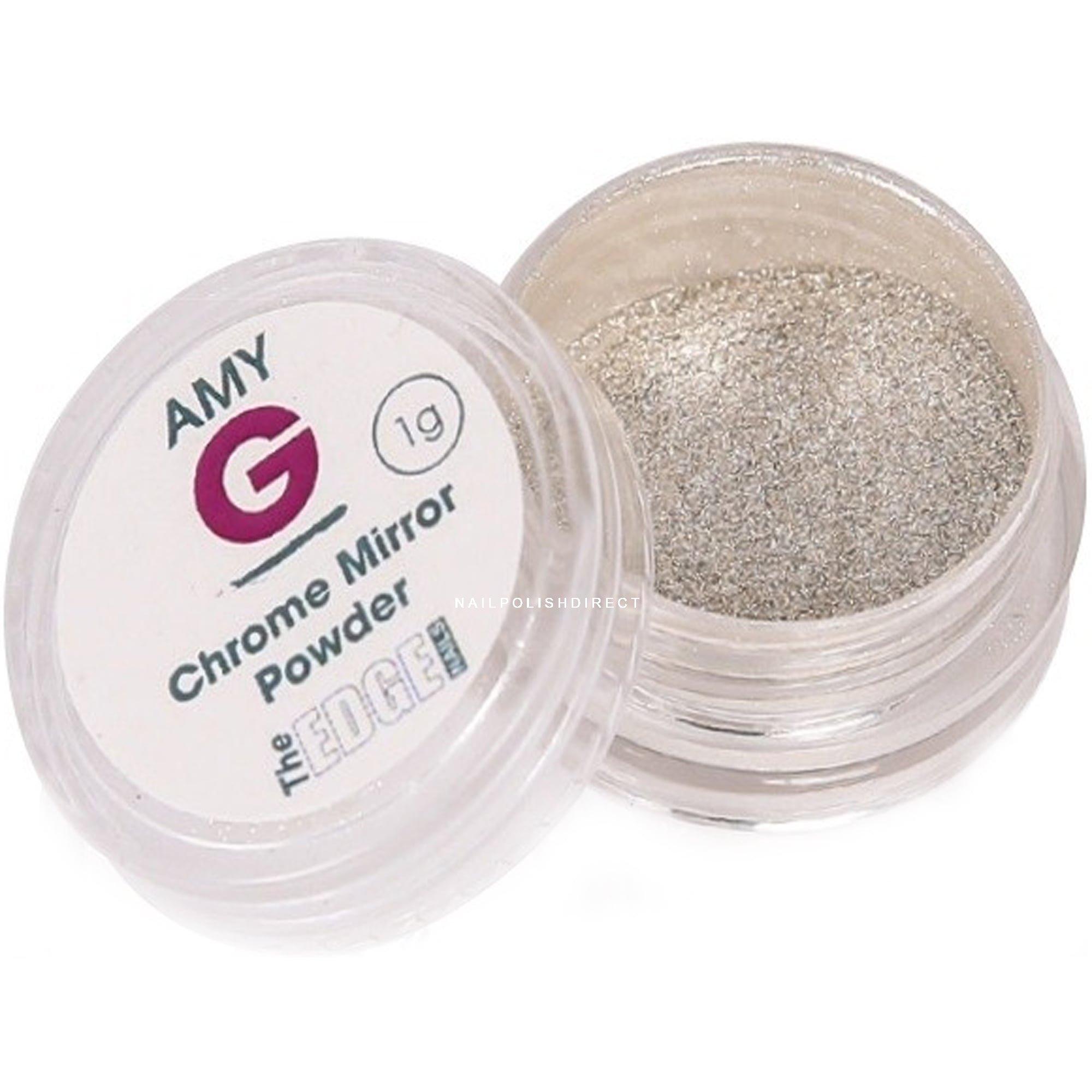 Amy G - Mirror Pigment Nail Art Powders - Chrome 1g (3003017)