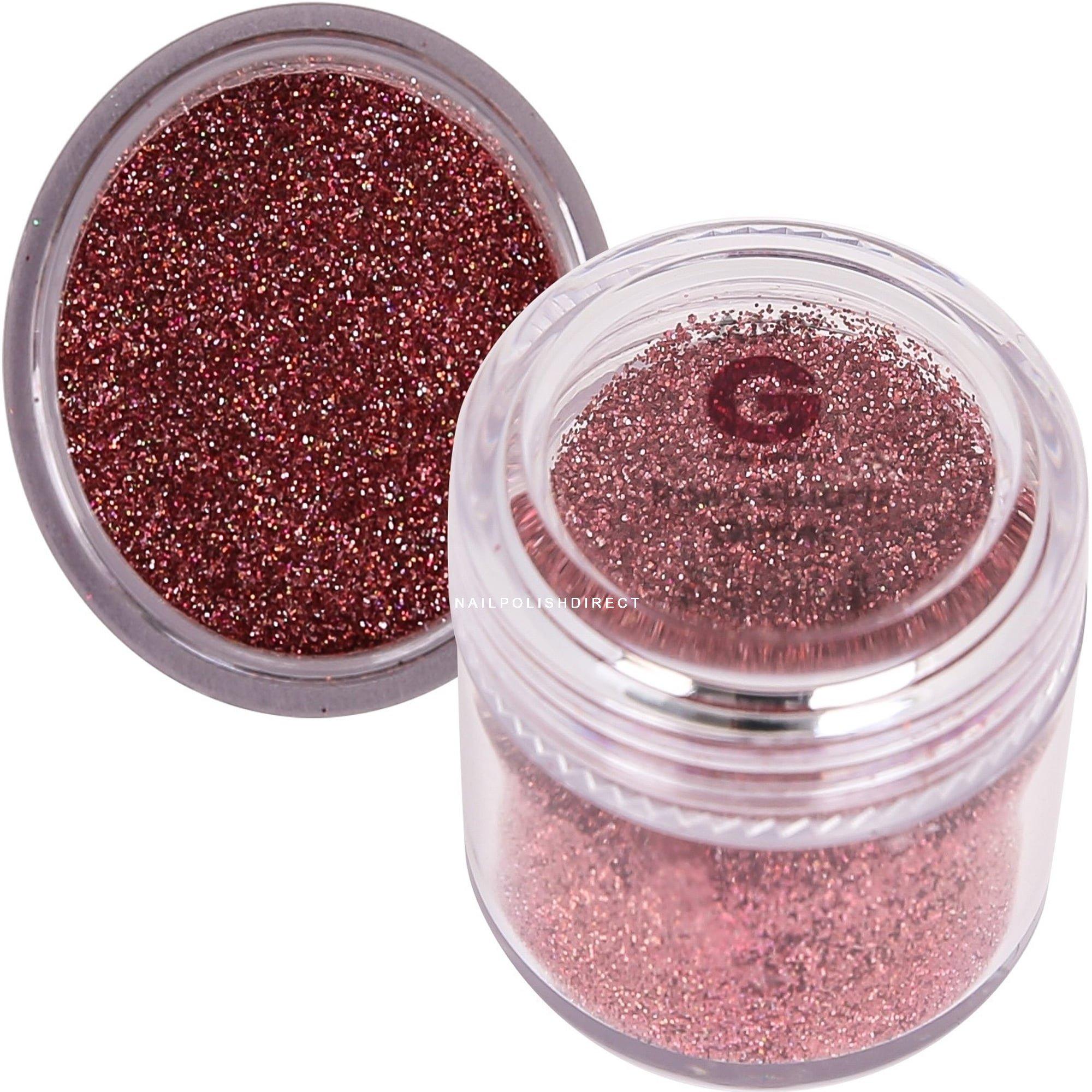 Amy G - Nail Art Glitters - Rose Quartz 8g (3003030)