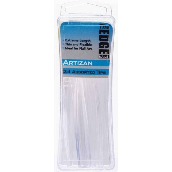 Edge Nails Assorted Nail Tips - Artizan (24 Pieces)