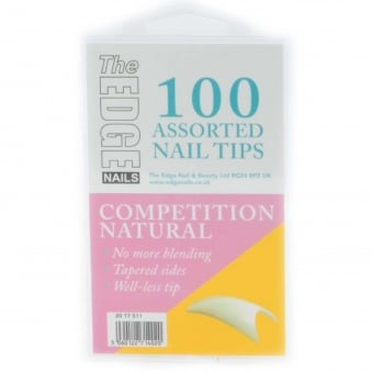 Assorted Nail Tips - Competition (100 Pieces) (2017511)