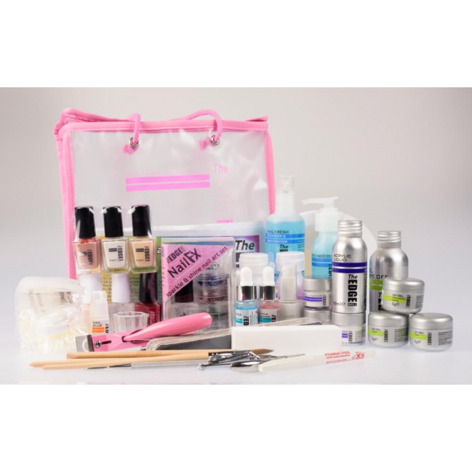 Edge Nails Complete Nail Systems Kit (44 Set Piece)